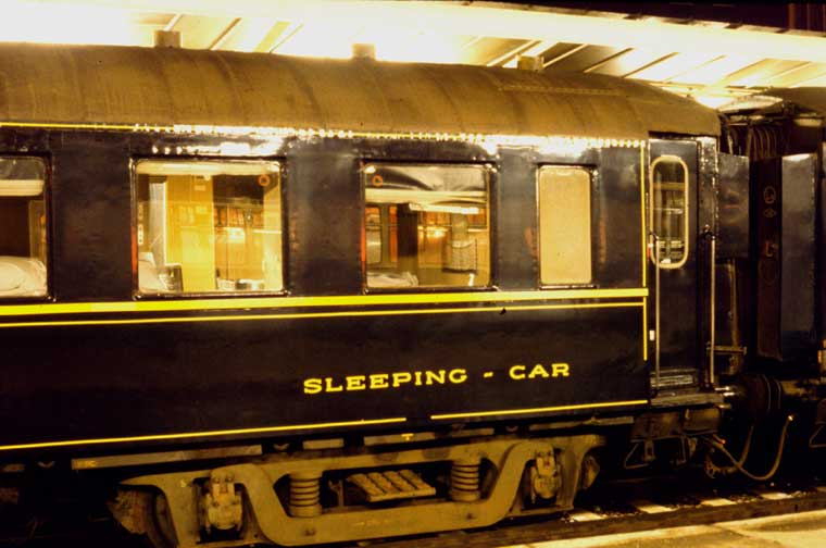 Ciwl Night Ferry Sleeping Car